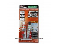 HE-205 HARDEX 5 MINUTES CLEAR EPOXY COMPOUND